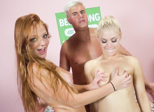 Blissful Fucking with Ash Hollywood And Farah Flowers