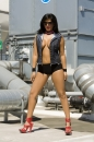 Rooftop Photoshoot With Sunny Leone picture 2