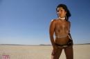 Desert White Bikini picture 13