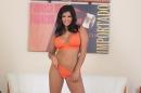 Orange Lingerie And Dildo picture 12