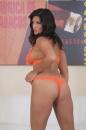 Orange Lingerie And Dildo picture 26