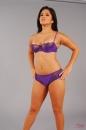 Purple Lingerie Tease picture 1