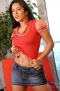 Jean Skirt & Red Vest picture 25