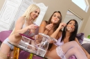 Lesbians Playing With Bubbles picture 10